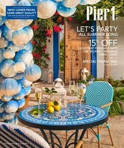Home & Furniture deals in the Pier1imports weekly ad in Dover DE