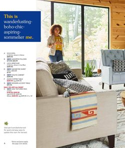 Table deals in the Pier1imports weekly ad in Poughkeepsie NY