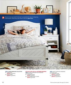 Bed deals in the Pier1imports weekly ad in Erie PA