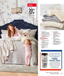 Furniture deals in the Pier1imports weekly ad in Akron OH