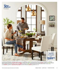 Table deals in the Pier1imports weekly ad in New York