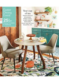 Furniture deals in the Pier1imports weekly ad in Erie PA