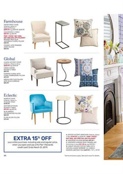 Prints deals in the Pier1imports weekly ad in New York