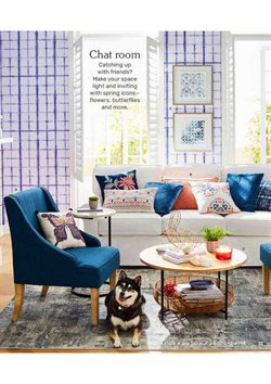 Flowers deals in the Pier1imports weekly ad in New York