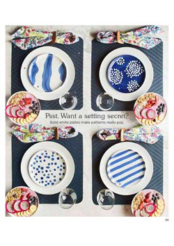 Plates deals in the Pier1imports weekly ad in New York