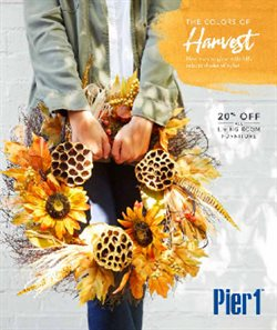 Pier1imports deals in the Sioux Falls SD weekly ad
