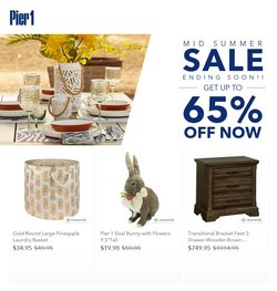Home & Furniture deals in the Pier1imports catalog ( 7 days left)