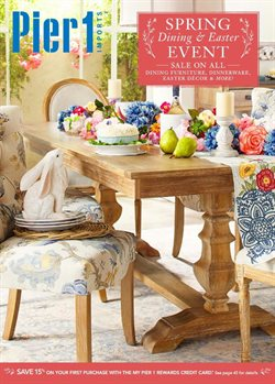 Pier1imports deals in the Sterling VA weekly ad