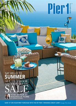Home & Furniture deals in the Pier1imports weekly ad in Houston TX