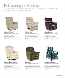 Chairs deals in the La-Z-Boy weekly ad in Troy NY