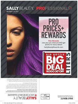 Beauty & Personal Care deals in the Sally Beauty weekly ad in New York