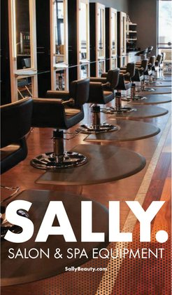 Beauty & Personal Care deals in the Sally Beauty catalog ( 8 days left)