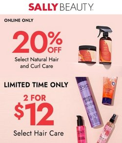 Beauty & Personal Care deals in the Sally Beauty catalog ( 2 days left)