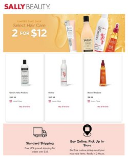 Beauty & Personal Care deals in the Sally Beauty catalog ( 1 day ago)