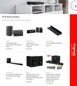 Electronics & Office Supplies deals in the hhgregg catalog ( Published today)