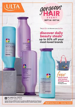 Beauty & Personal Care deals in the Ulta Beauty weekly ad in Bell CA
