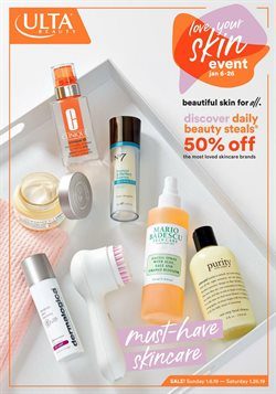 Beauty & Personal Care deals in the Ulta Beauty weekly ad in Los Angeles CA
