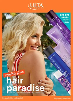 Beauty & Personal Care offers in the Ulta Beauty catalogue in Mesa AZ ( 8 days left )
