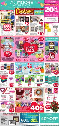 Gifts & Crafts deals in the AC Moore weekly ad in Herndon VA