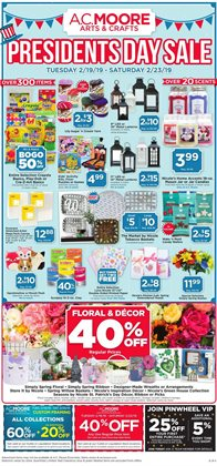 Gifts & Crafts deals in the AC Moore weekly ad in Poughkeepsie NY