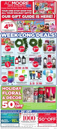 Gifts & Crafts deals in the AC Moore weekly ad in Hialeah FL
