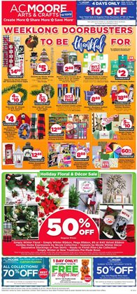 Gifts & Crafts deals in the AC Moore weekly ad in Allentown PA