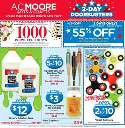 Gifts & Crafts deals in the AC Moore weekly ad in Bethesda MD