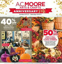 AC Moore deals in the New York weekly ad