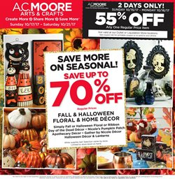 Gifts & Crafts deals in the AC Moore weekly ad in Germantown MD