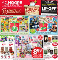 Gifts & Crafts deals in the AC Moore weekly ad in New York