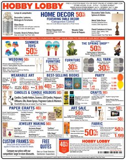 Home & Furniture offers in the Hobby Lobby catalogue in Falls Church VA ( 1 day ago )