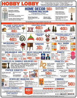 Home & Furniture offers in the Hobby Lobby catalogue in Cary NC ( Expires today )
