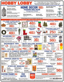 Home & Furniture offers in the Hobby Lobby catalogue in Douglasville GA ( Published today )