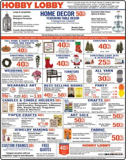 Hobby Lobby catalogue in El Cajon CA ( Published today )
