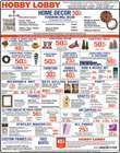 Home & Furniture offers in the Hobby Lobby catalogue in Newnan GA ( Expires tomorrow )