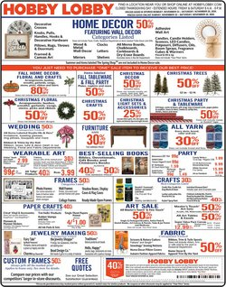 Home & Furniture offers in the Hobby Lobby catalogue in Chattanooga TN ( Expires tomorrow )