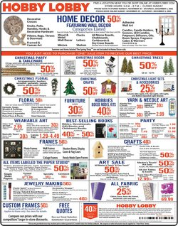 Hobby Lobby catalogue in Dallas TX ( Published today )