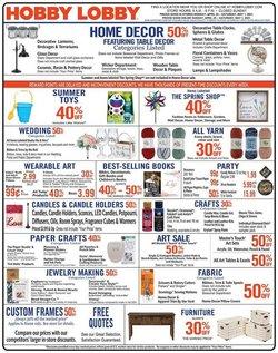 Hobby Lobby Springfield Mo 1717 W Kearney Store Hours Deals