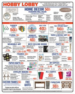 Home & Furniture deals in the Hobby Lobby catalog ( 1 day ago)