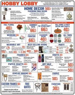 Hobby Lobby catalog ( Expires today)