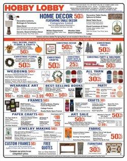 Hobby Lobby catalog ( 3 days left)