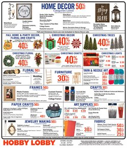 Hobby Lobby deals in the Denver CO weekly ad