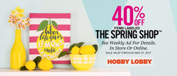 Hobby Lobby deals in the Sterling VA weekly ad