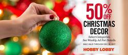 Hobby Lobby deals in the Acworth GA weekly ad