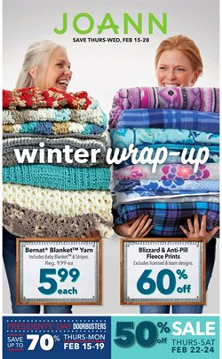 Gifts & Crafts deals in the Jo-Ann weekly ad in Johnstown PA