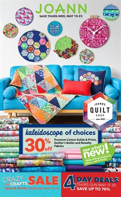 Gifts & Crafts deals in the Jo-Ann weekly ad in East Lansing MI