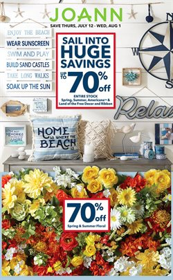Gifts & Crafts deals in the Jo-Ann weekly ad in Savannah GA