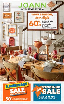 Gifts & Crafts deals in the Jo-Ann weekly ad in Redding CA
