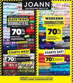 Gifts & Crafts deals in the Jo-Ann weekly ad in Norcross GA