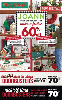 Gifts & Crafts deals in the Jo-Ann weekly ad in North Charleston SC
